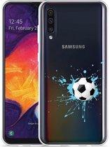 Galaxy A30s Hoesje Soccer Ball