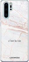 Huawei P30 Pro siliconen telefoonhoesje - C'est la vie