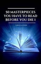 Boek cover 50 Masterpieces you have to read before you die Vol: 1 (Book Center) van Arthur Conan Doyle (Onbekend)