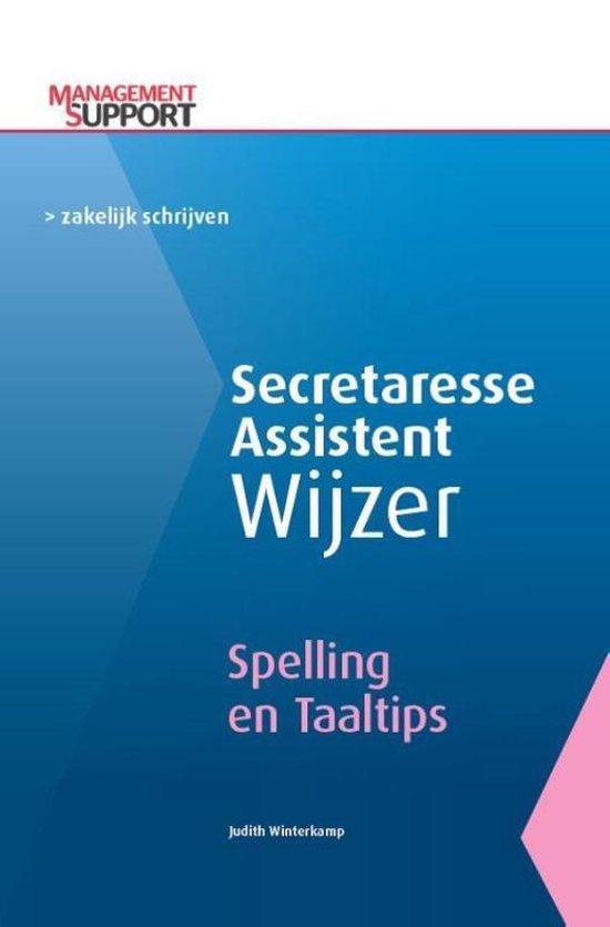 Secretaresse Assistent Wijzer - Spelling en taaltips - Judith Winterkamp | Fthsonline.com