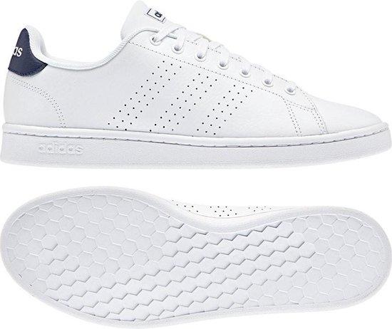 adidas Advantage Heren Sneakers - Ftwr White/Dark Blue - Maat 44