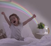 Regenboog LED Projector - Kinderkamer - Verlichting - Kinderlampje - Lampje - Regenboog - Decoratieve Verlichting - Tafel Lamp - Nacht Lamp -