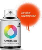 MTN Rode Waterbasis Spuitverf - 100ml graffiti spray-paint geschikt voor kinderen