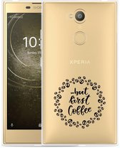 Sony Xperia L2 Hoesje But first coffee