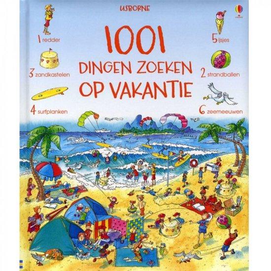 Cover van het boek '1001 dingen zoeken op vakantie' van Hazel Maskell
