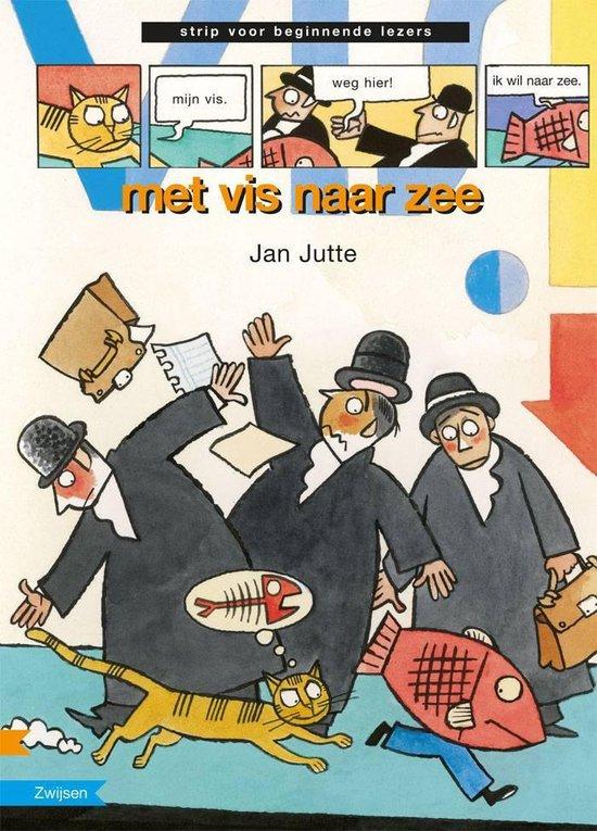 Strip voor beginnende lezer - Met vis naar zee - Jan Jutte |
