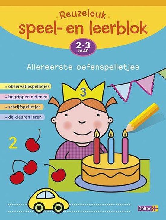 Reuzeleuk speel- en leerblok 2-3 jaar - Annemie Bosmans pdf epub