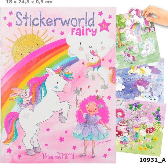 Depesche Princess Mimi Fairy Stickerworld