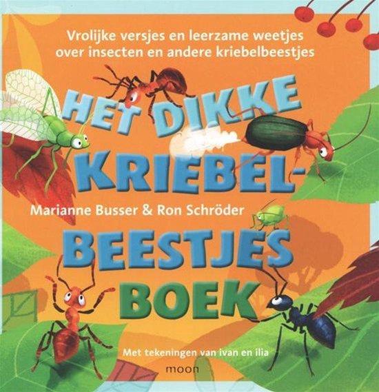 Boek cover Het dikke kriebelbeestjesboek van Marianne Busser