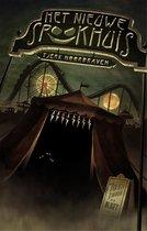 Boek cover De engste serie ooit 1 -   Het nieuwe spookhuis van Tjerk Noordraven (Hardcover)
