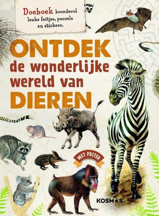 Kinderboeken De Fontein Dieren - Ontdek de wonderlijke wereld van dieren - Vicky Egan |