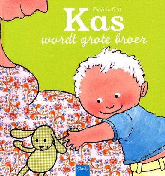 Boek cover Kas wordt grote broer van Pauline Oud (Hardcover)