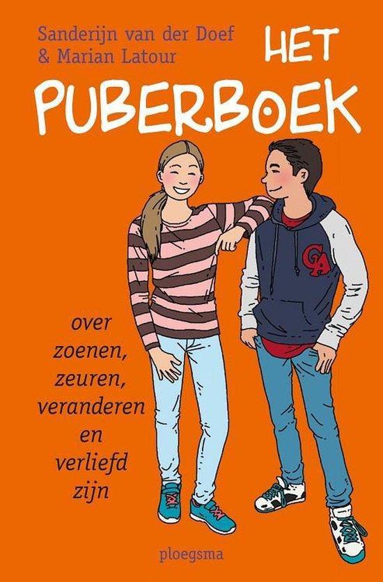 Boek cover Het puberboek van Sanderijn van der Doef (Paperback)