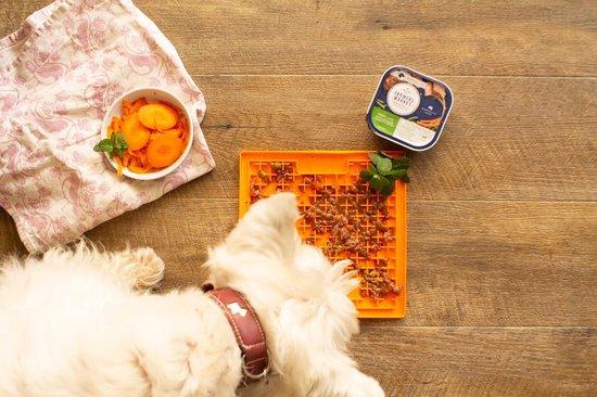Lickimat Buddy - voermat voor natvoer en brokjes - slow feeder