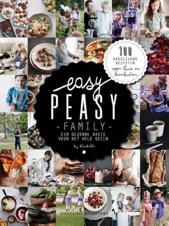 Boek cover Easy peasy family van Claire van den Heuvel (Hardcover)