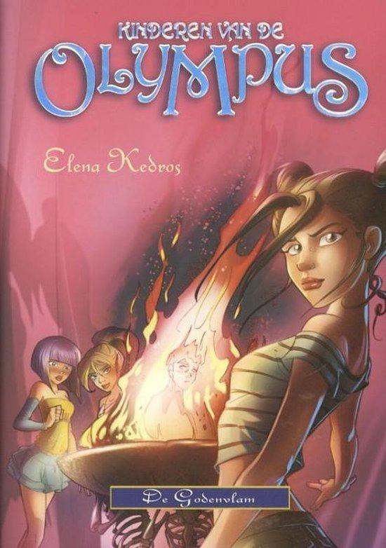 Kinderen van de olympus 4: de goden vlam - Elena Kedros   Readingchampions.org.uk