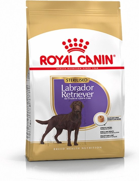 Royal Canin Labrador Retriever Sterilised - Hondenvoer - 12 kg