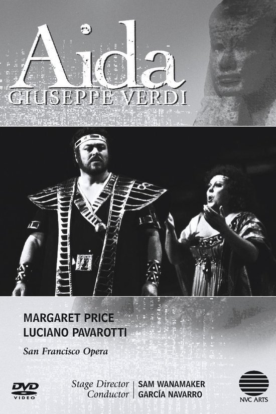 Cover van de film 'Aida - San Francisco Opera'