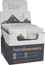 Häago 10 Paar Premium Handwarmers – Veilige Handverwarmende Pads, 100% Natuurlijk, Tot maximaal 10 uur genieten van een Gelijkmatige Temperatuur (50 °C) – Luchtgeactiveerde Handschoenen- Zakverwarmers voor Maximum Warmte & Comfort in de Winter