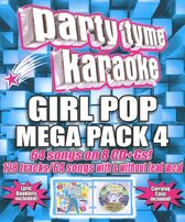 Party Tyme Karaoke: Girl Pop Mega Pack, Vol. 4
