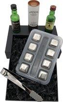Mister Mill Whiskey Stones - RVS - Cadeau Box 8 IJsblokjes