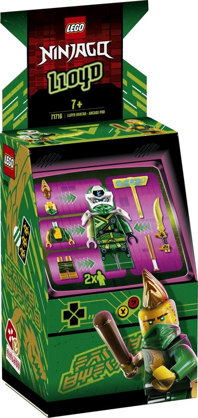 LEGO NINJAGO Arcade Pod Lloyd Avatar - 71716