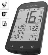 Cycplus GPS Fietscomputer | hoogtemeter | Horlogefunctie | Waterbestendig |  Hartslagfunctie | Caloriemeting | Temperatuur | Rondes - boveld beschermhoes
