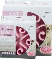 Anti schrok voerbak hond - Eat slow live longer - Zorgt voor een rustiger eetpatroon!
