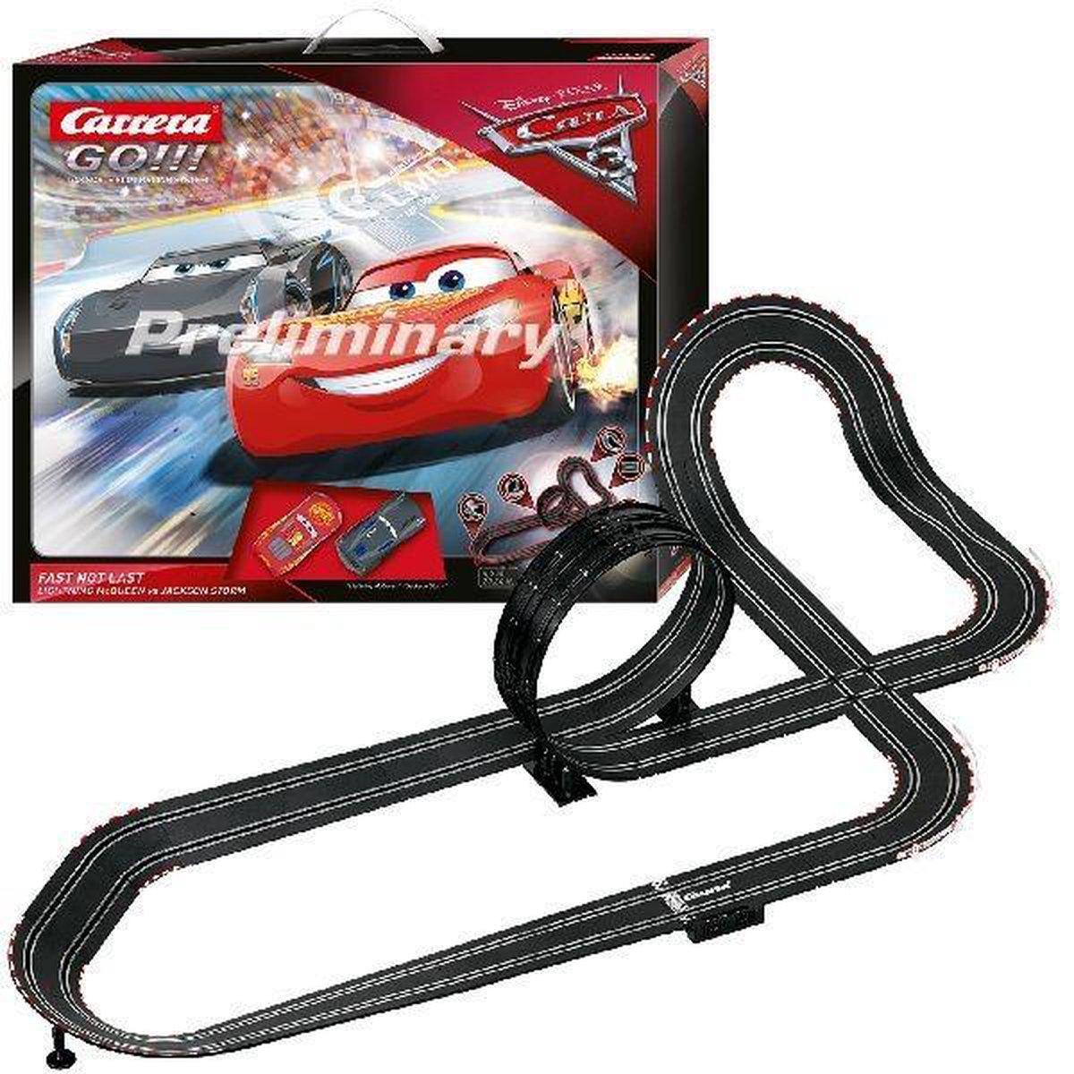 Bol Com Carrera Go Disney Pixar Cars 3 Fast Not Last Racebaan