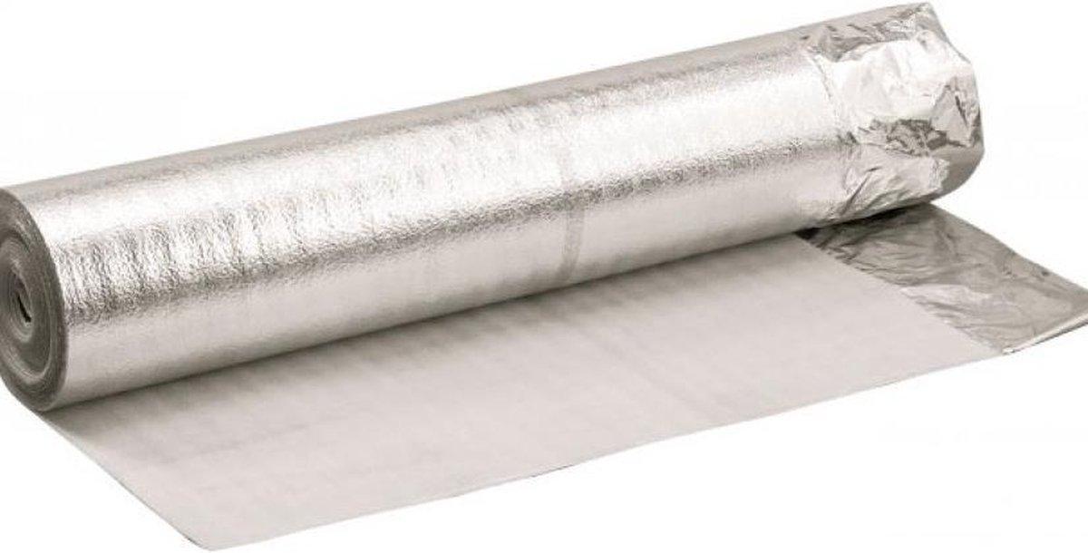 Ondervloer Alufoam, rol 15 m2