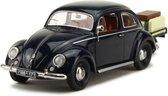 Volkswagen Kever met aanhanger Blauw 1-43 Schuco Limited Edition of 750 pcs.