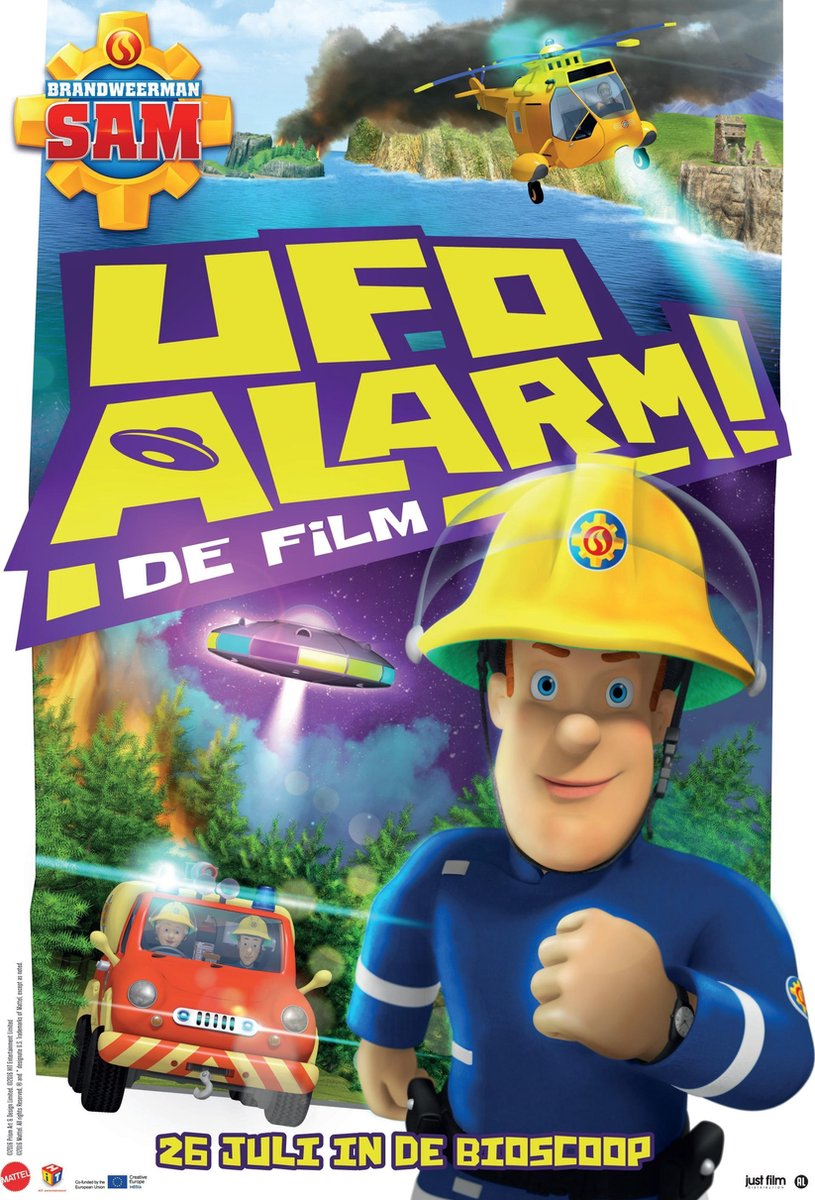 Brandweerman Sam - De Film: UFO Alarm! - Children