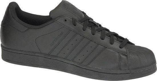 adidas Superstar Foundation  Sportschoenen - Maat 40 2/3 - Unisex - zwart