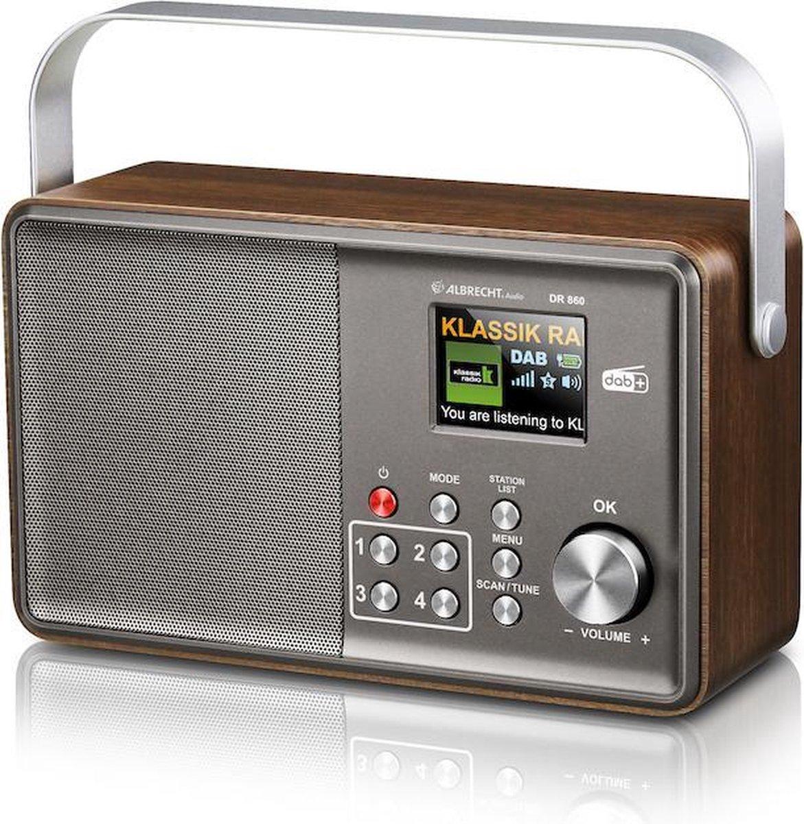 Albrecht DR 860 Senior Digitaleradio,DAB+ en FM radio