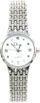 Dielay - Horloge - Metaal - Kast 22 mm - Quartz - Zilverkleurig