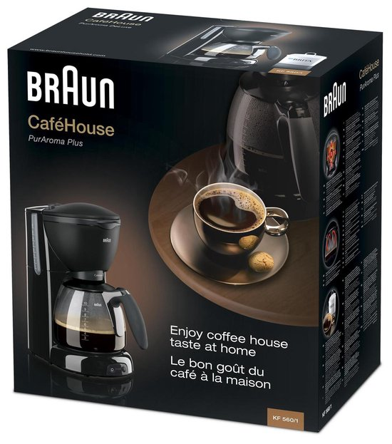 Braun Café House PurAroma Plus KF560/1 - Koffiezetapparaat