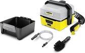 Kärcher OC 3 + Adventure hogedrukreiniger Compact Batterij/Accu 120 L/u Zwart, Geel