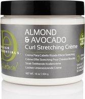 Design Essentials - Natural Almond & Avocado Curl Strechting Cream - 473ml