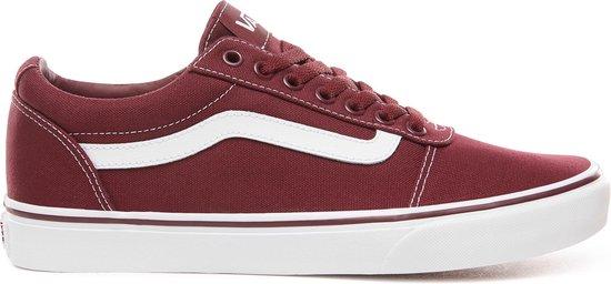 Vans Ward Canvas Heren Sneakers - Port Royale/White - Maat 47
