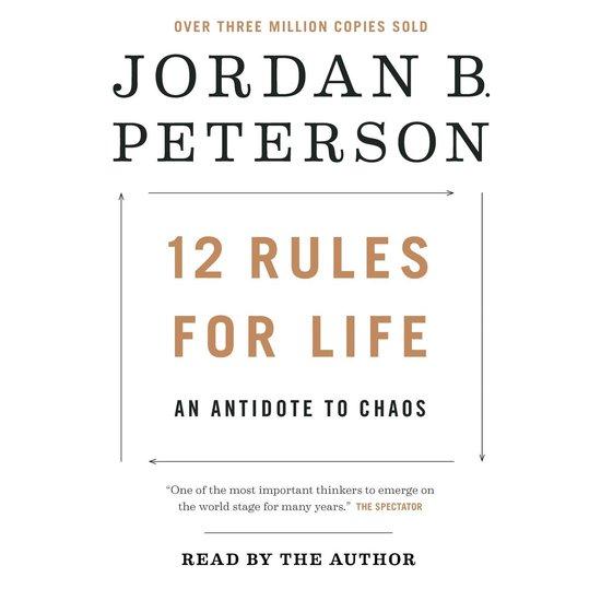 CD cover van 12 Rules for Life van Jordan B. Peterson