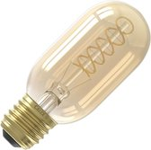 Calex Premium Tubular LED Lamp Ø45 - E27 - 200 Lumen - Goud Finish