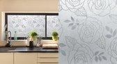 Patifix Rozen Raamfolie - Zelfklevend - 45x200 cm