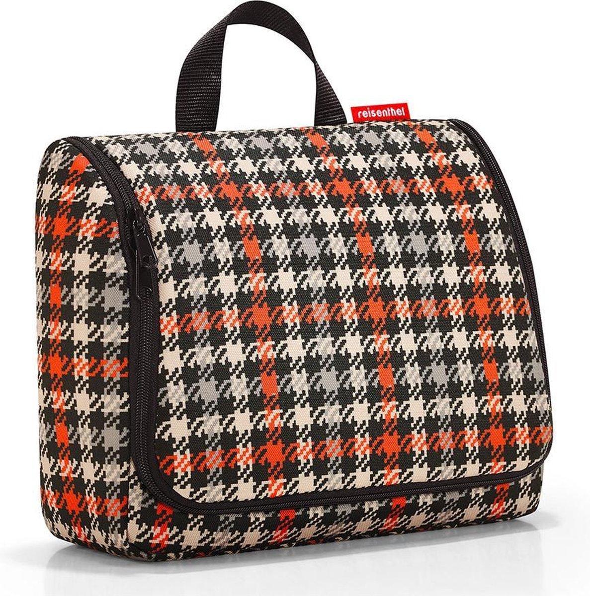 Reisenthel Toiletbag XL Ophangbare Toilettas 4L - Glencheck Red