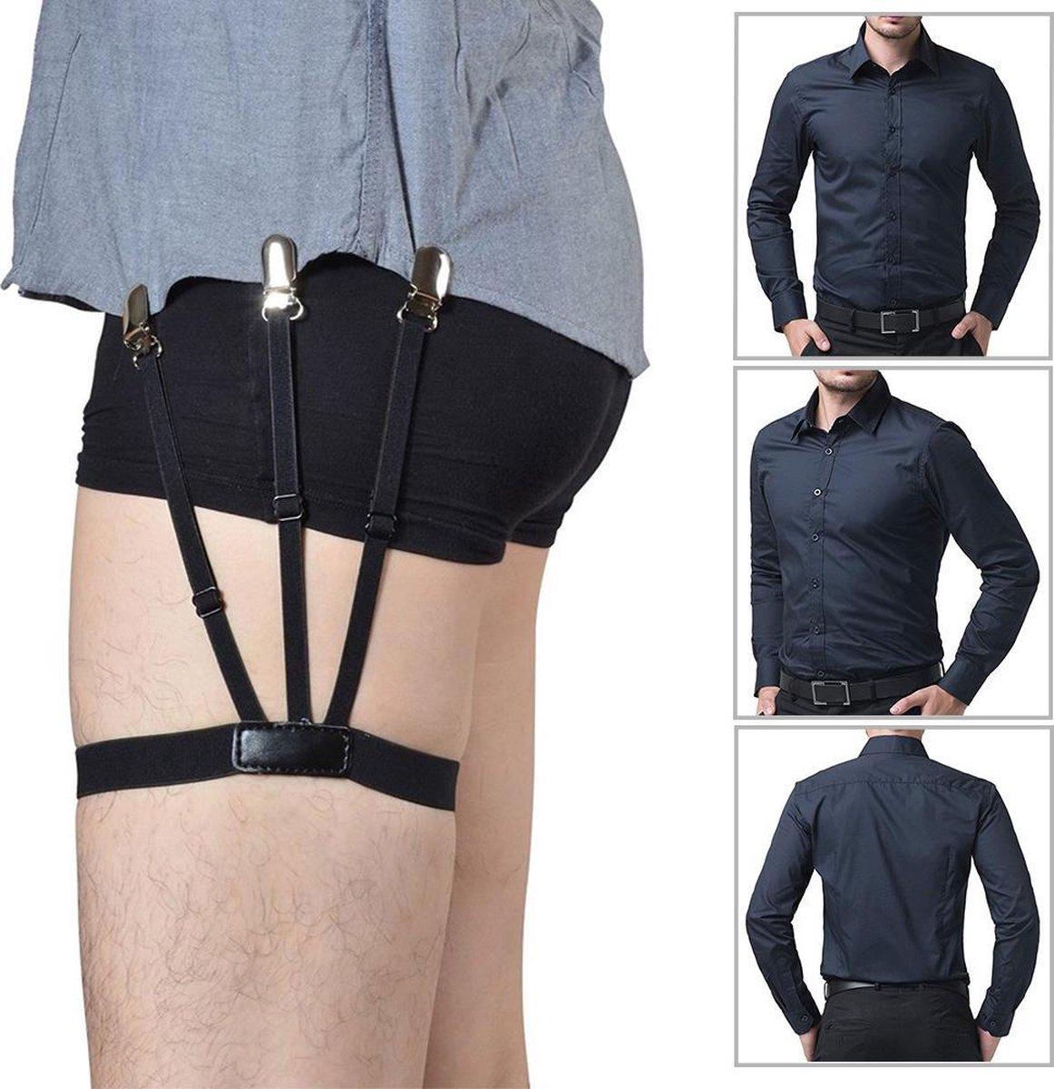 Overhemd Bretels Heren Mannelijke Jarretels Garters Zakelijke outfit Strak shirt Mannen kleding accessoires Bruitloft Smoking Vrouwen