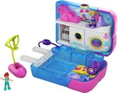 Polly Pocket Big Pocket World Polly & Lila ijsje - Speelset