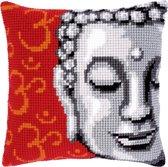 Kruissteekkussen kit Boeddha - Vervaco - PN-0143700