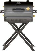 Boretti Fratello houtskoolbarbecue - 58x41 - Zwart