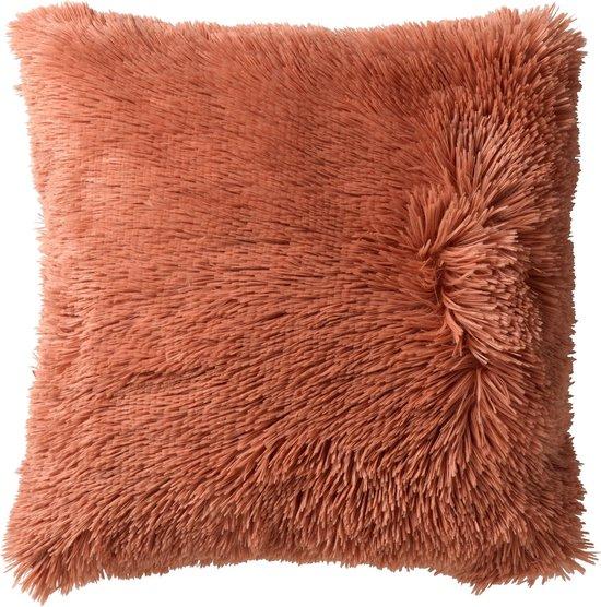 Sierkussen Fluffy 45x45 cm Muted Clay