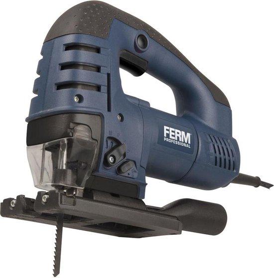 FERM JSM1025P Professionele Decoupeerzaag - 750 Watt - Variabele snelheid -...