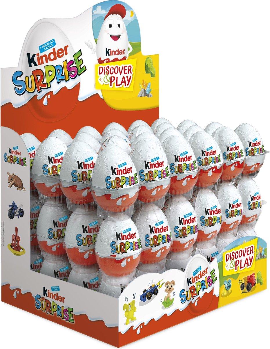 Kinder Surprise chocolade eieren - 72 stuks